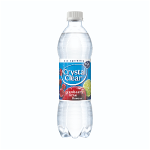 Foto Crystal Clear Cranberry Fles 500ml